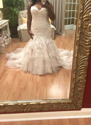 Wedding Dress size 14/16 for Sale in Foley, AL