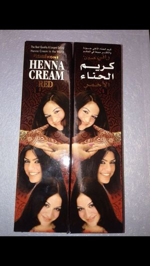 Red henna Cream for Sale in Phoenix, AZ