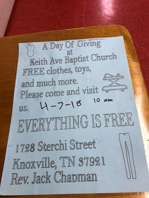 A Day Of Giving for Sale in Knoxville, TN