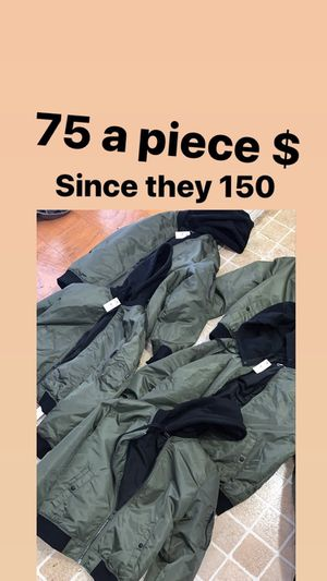 New express men coats 75$ a piece the lowest 65$ for Sale in Joint Base Andrews, MD