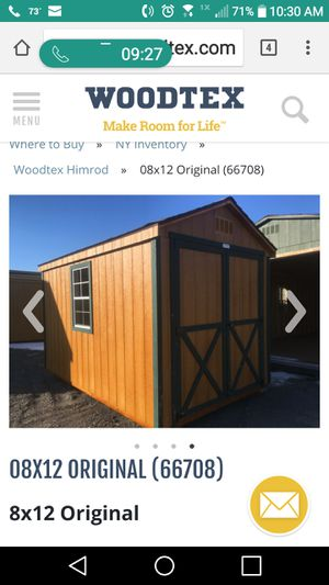 Shed for Sale in Branchport, NY