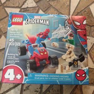 Brand New Lego Marvel Spider-Man Spider-Man And Sandman Showdown In Box Unopened for Sale in Orlando, FL