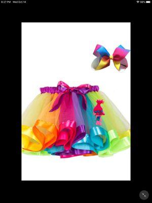Trolls tutu skirt 2t for Sale in Rialto, CA