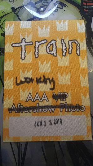 Train Working Pass + Guitar Pick for Sale in Glendale, AZ