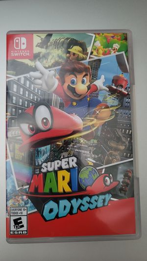 Super Mario Odyssey Nintendo Switch for Sale in Irvine, CA