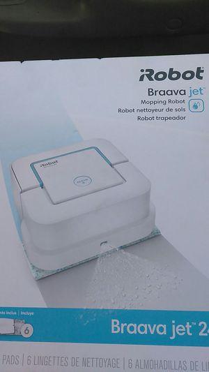 Irobot braava jet for Sale in Modesto, CA