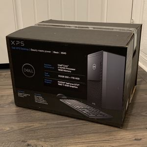 NEW Dell XPS 8940 Core i7-10700 2.9GHz 16GB 512GB SSD+1TB HDD GTX 1660Ti 6GB Desktop for Sale in Monterey Park, CA