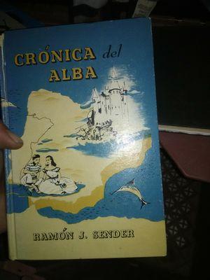Cronica del Alba 1947 hardback for Sale in Albuquerque, NM