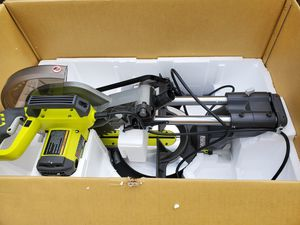 RYOBI 12 in. Sliding Miter Saw with LED for Sale in San Diego, CA