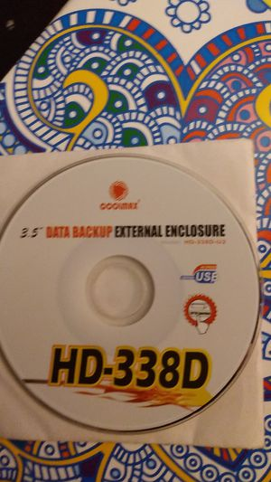 Back up HD external encloser for Sale in Newark, OH