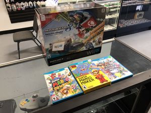 Nintendo Wii U Bundle for Sale in Santa Clarita, CA