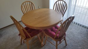 Oak Dining Table for Sale in Wichita, KS