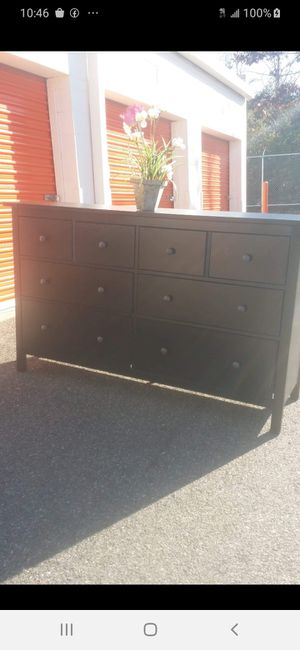 IKEA HEMNES DRESSER WITH BIG DRAWER DRAWER SLIDING SMOOTHLY GREAT CONDITION for Sale in Fairfax, VA
