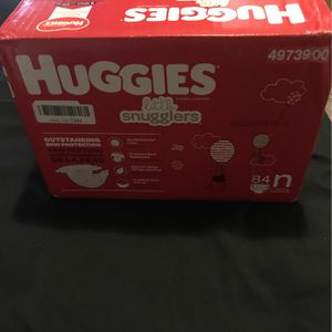 84ct N Up To 10lb Huggies Diapers for Sale in Gastonia, NC
