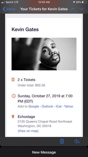 Kevin Gates tickets for Sale in Washington, DC