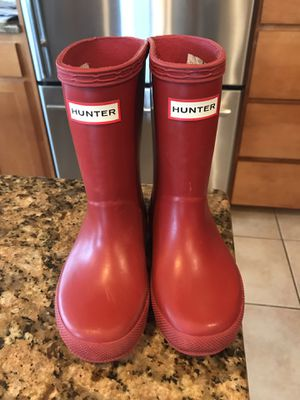 Hunter Rain Boots - Size 8 for Sale in Orting, WA