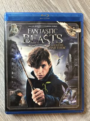 Fantastic Beasts and Where to Find Them Blu Ray for Sale in Bremerton, WA