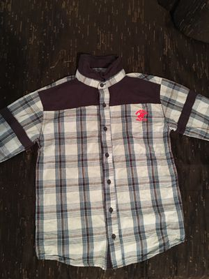 BEVERLY HILLS POLO CLUB collared shirt boys size M(10-12) for Sale in San Bruno, CA