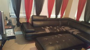 FREE sectional sofa and ottoman for Sale in Tarpon Springs, FL