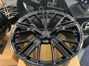 """Camaro zl1 style 20"""" new blk rims tires set for Sale in Hayward, CA"""
