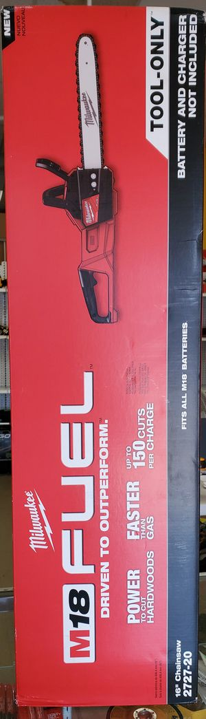 Milwaukee M18 Fuel Chainsaw TOOL ONLY for Sale in Berwyn, IL