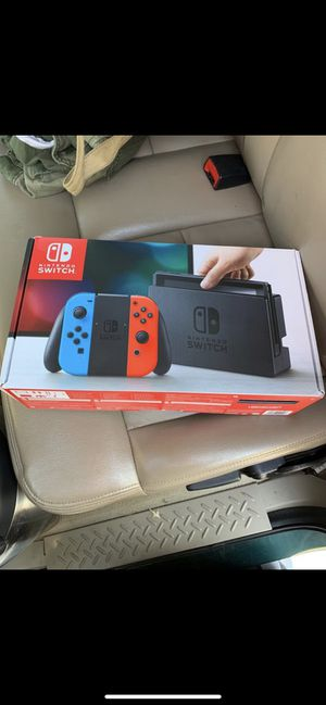 Nintendo Switch with bundle for Sale in Tampa, FL