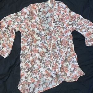 Pink Floral Kimono/cardigan for Sale in Chandler, AZ