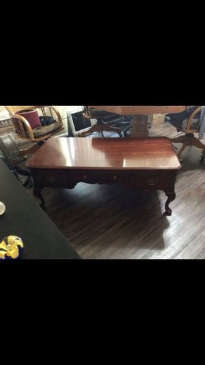 Antiques-coffee table, roll top desk, and dresser. Great condition for Sale in San Dimas, CA