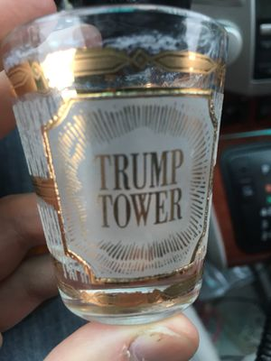 Rare Collectible Vintage Trump Tower Shot Glass for Sale in Los Angeles, CA