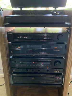 Sony Stereo System Classic for Sale in Falls Church, VA