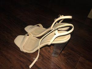 Zara clear heels size 10 for Sale in Los Angeles, CA