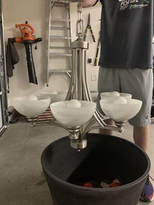Chandelier Light Fixture for Sale in Escondido, CA