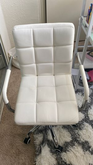 Faux Leather Computer Seat for Sale in Laurel, MD