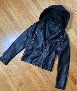 f21 moto leather jacket for Sale in Pacifica, CA