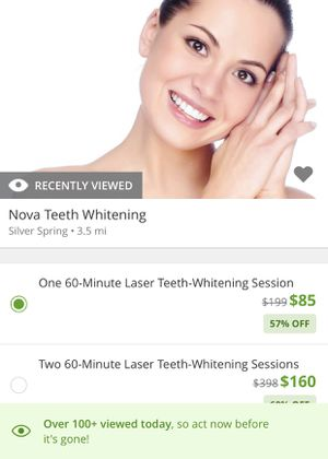 Laser Teeth Whitening! for Sale in Silver Spring, MD