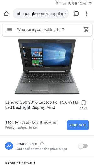 Lenovo G50 computer still works great great laptop for Sale in Los Angeles, CA