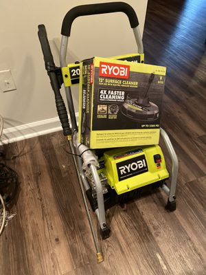 LIKE NEW | AS IS 2,000 PSI 1.2 GPM Electric Pressure Washer w/Surface cleaner for Sale in Atlanta, GA