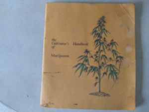 Marijana growers book from 1970 for Sale in Laura, IL