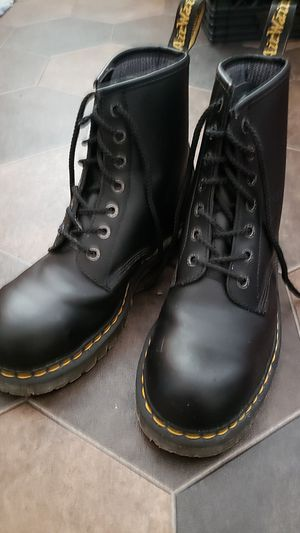 Size 11 Steel Toed Dr. Marten's Work Boots, only worn once. for Sale in St. Louis, MO