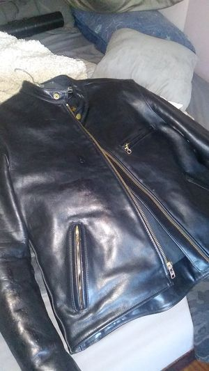Vanson motorcycle leather jacket. Harley yamaha honda for Sale in Pasadena, TX