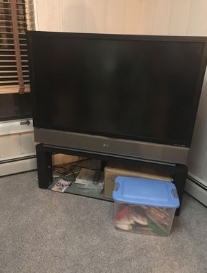 We have a two over 50 inches rear projection T.V.'s for Sale in Kingsford, MI