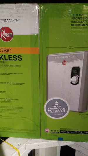 Raheem,tankless Electric water heater for Sale in Fairfield, CA