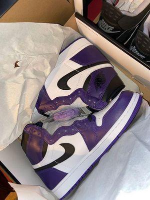Jordan 1 court purple for Sale in Portland, OR