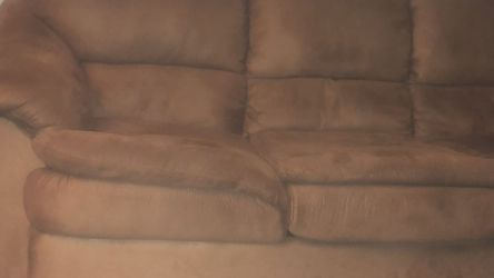 Sofa With Folding Bed along With recliner Chair W/normal Wear And Tear for Sale in Philadelphia,  PA