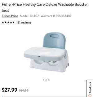 Portable baby booster seat for Sale in San Antonio, TX