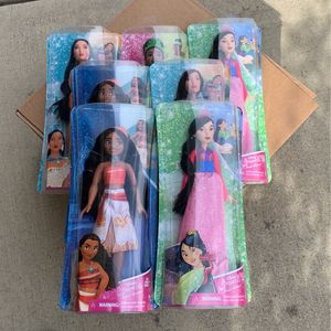 Brand New 7 Disney Princesses for Sale in Claremont, CA