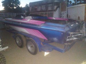 Carrera boat shell and trailer for Sale in Beaumont, CA