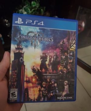 Kingdom hearts 3 for Sale in Aledo, TX