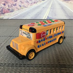 Talking School Bus 🚌 ABC Speak Phases 123 for Sale in San Jose, CA