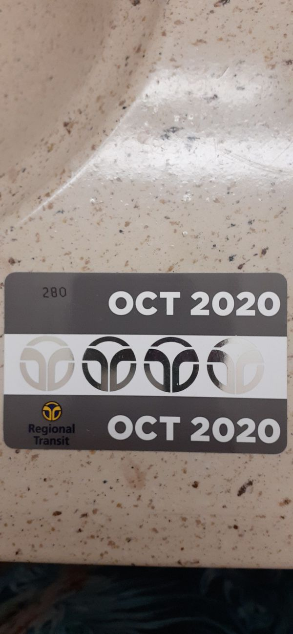 Monthly transportation pass